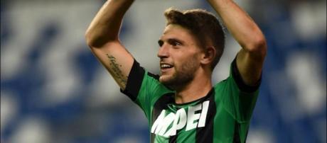 Domenico Berardi con la maglia del Sassuolo ha totalizzato 159 presenze e 59 goal - fantagazzetta.com