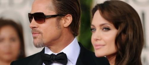 Brad Pitt and Angelina Jolie are reportedly back in touch (Photo by Chrisa Hickey/YouTube)