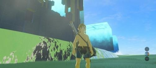 """Breath of the Wild"" player stumbles across a strange area - Reddit"