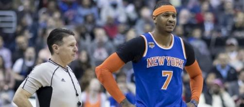 Carmelo Anthony - New York Knicks - image source Blasting News Library