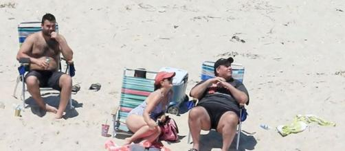Chris Christie and his family were seen relaxing on one of the beaches Christie shut down just days earlier.