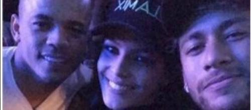 Emilly e Neymar se encontram em evento (Foto: Reprodução/Instagram/Neymar)