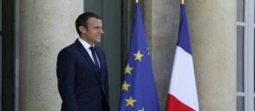 Emmanuel Macron, nouveau président de la République française