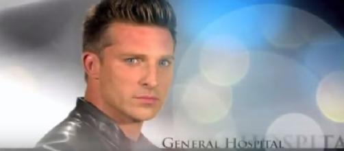 General Hospital Steve Burton has Jason Morgan. (Image via YouTube screengrab)
