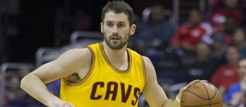 Kevin Love could be traded to the New York Knicks. Image Credit: Keith Allison / Flickr
