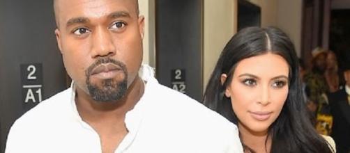 Kim Kardashian and Kanye West - The Fame/YouTube