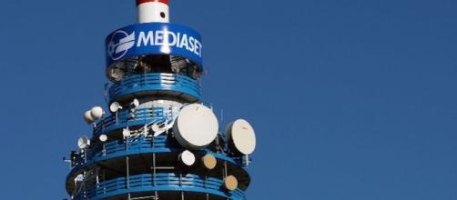 La torre Mediaset a Cologno Monzese.