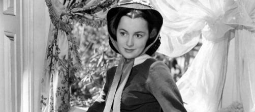 Olivia de Havilland publicity photo for Gone with the Wind, 1939 by MGM via Wikimedia Commons
