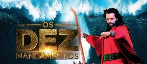 'Os Dez Mandamentos' foi sucesso na tela da Record em 2015, e agora volta em 2017. ( Foto: Reprodução)