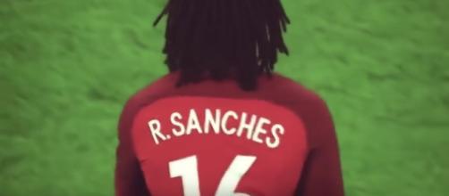 Renato Sanches del Bayern Monaco