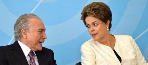 Rousseff & Michel Temer credits:wikimedia https://commons.wikimedia.org/wiki/File:Dilma_Rousseff_e_Michel_Temer_em_24_de_novembro_de_2015.jpg