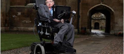 Stephen Hawking on climate Change. Image credit Lwp Kommunikáció | Flickr