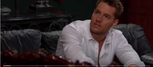 The Young and the Restless Adam Newman. (Image via YouTube screengrab)