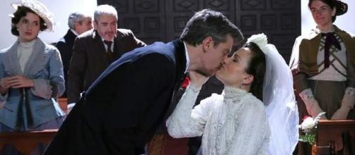 Una Vita, puntate 9-14 luglio: Humildad e Mauro sposi