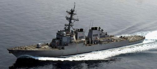 USS Stethem angers China as it sails near highly disputed island in South China Sea - Wikimedia Commons - wikimedia.org
