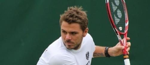 World No. 3 Stan Wawrinka was ousted in the first round by Daniil Medvedev -- si.robi via WikiCommons