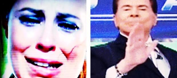 Silvio Santos diz que Paolla gosta de rol* - Google