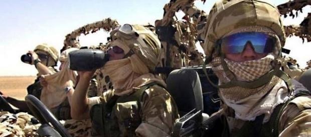 Trupele SAS s-au angajat într-o luptă pe viață și pe moarte cu luptătorii ISIS - Foto: PINTEREST