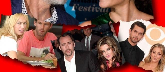Los matrimonios entre famosos duran cada vez menos