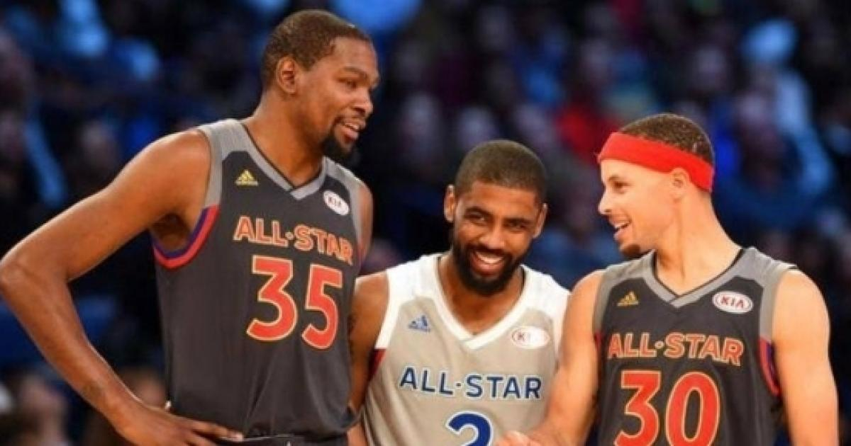 e5ae334e5fa Stephen Curry and Kyrie Irving team up to mock LeBron James