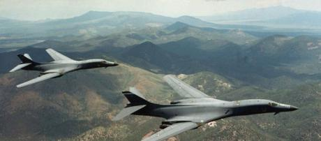 US B1 bombers answering the threat of North Korea - Flickr