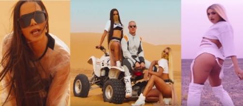Anitta e Pabllo Vittar lançam clipe de 'Sua Cara'