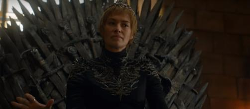 Cersei at the Iron Throne- YouTube/GameofThrones