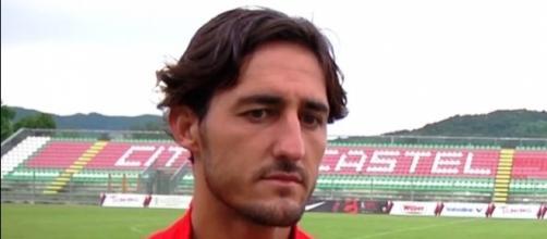 Cristian Angelli, capitano del Foggia Calcio
