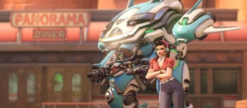 D.Va from Blizzard's 'Overwatch'. [Image via Bizzard]
