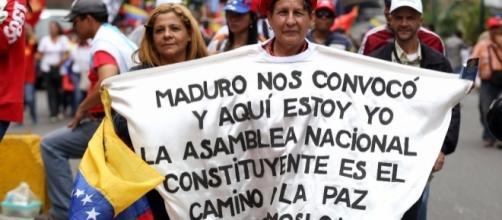 El pueblo de Venezuela tiene la oportunidad de elegir representantes que les diseñen una Nueva Constitución