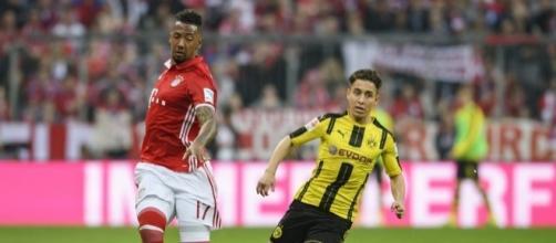 Emre Mor in action for Borussia Dortmund pinterest.com
