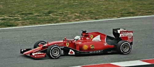Ferrari driver Sebastian Vettel wins the Hungarian Grand Prix - Alberto-g-rovi via Wikimedia Commons