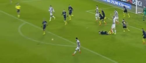 Juan Cuadrado Amazing Goal - Juventus vs Inter 1-0 - Serie A 5/2/2017 HD Image - ESPN FC | YouTube