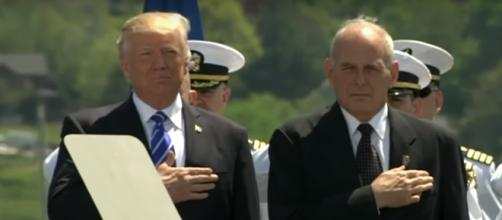 Retired Gen John F Kelly as the new White House chief of staff.[Image via YouTube/ Fox News]