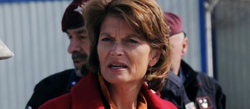 Sen. Lisa Murkowski (R-Alaska) / [Image by NATO Training Misson-Afghanistan via Flickr, cropped, resized, CC BY-SA 2.0]