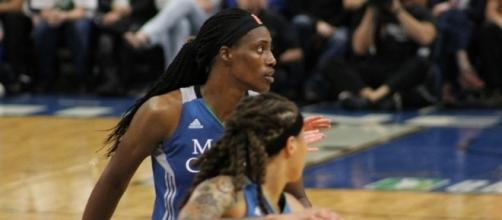 The Minnesota Lynx host the Seattle Storm in Sunday night's WNBA action. [Image via WNBA/YouTube]