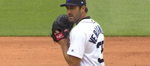 Will Justin Verlander have a new team before Monday's MLB trade deadline? [Image via MLB/YouTube]