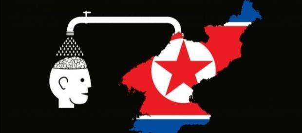 Brainwashing in North Korea via Flickr