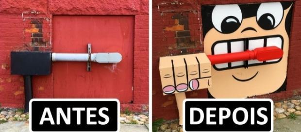 Conheça algumas das mais interessantes obras de arte espalhadas por Nova York - Imagem Google/ Arte Tom Bob