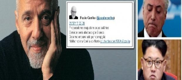 Escritor e jornalista Paulo Coelho faz duras críticas ao que considera o Brasil pós-golpe com Temer