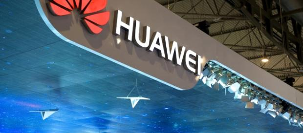Logo of Chinese company, Huawei. - https://www.flickr.com/photos/janitors/16103977343/