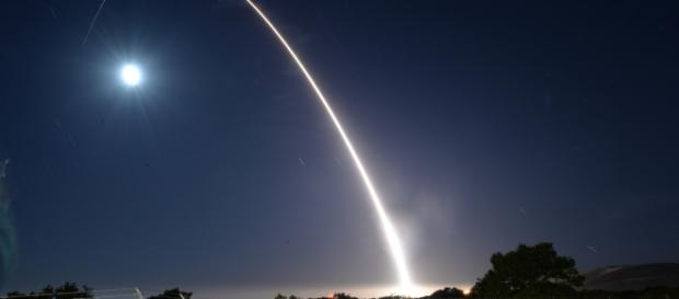 North Koran missile launched. - Image - U.S. Department of Defense Current Photos | Fickr.