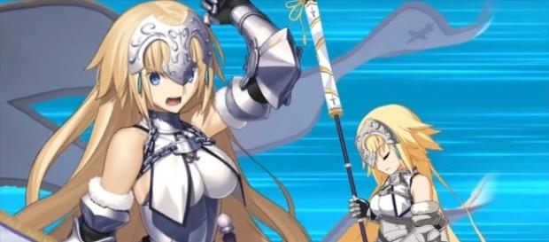 Rack up some Saint Quartz and roll the gatcha to get Jeanne! (via YouTube/G&A Reviews)