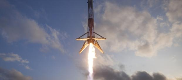 SpaceX rocket photo from Flickr.
