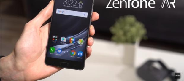 The smartphone is now available at Verizon on a $27 per month leasing plan. (via Asus/Youtube)
