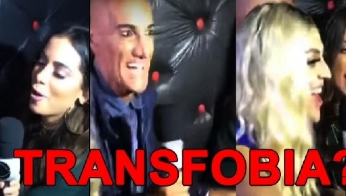 Anitta Empurra Repórter Da Record Por Ignorar Pabllo Vittar