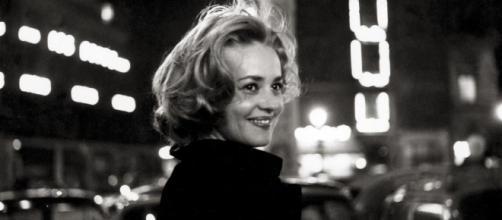A atriz francesa Jeanne Moreau