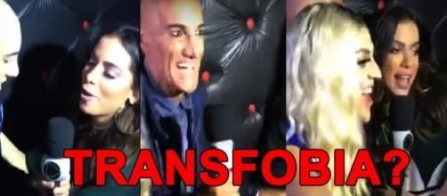 Anitta empurra repórter após ignoradas em Pabllo Vittar