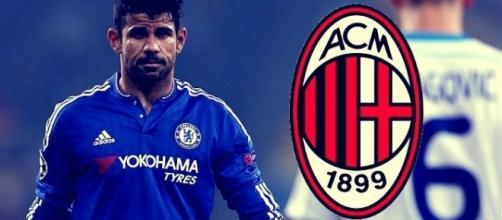 Calciomercato: il Milan ci prova per Diego Costa