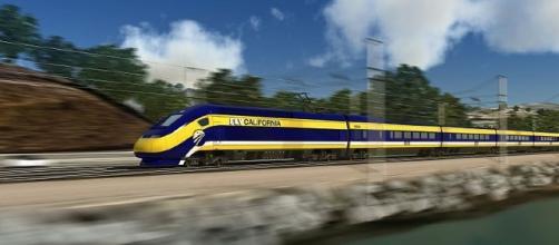 Califorina high speed rail (State of California wikimedia)